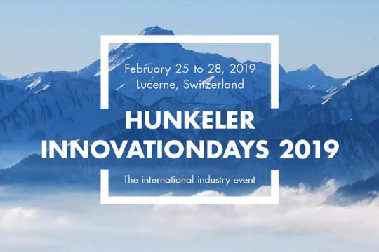 Burgo at the Hunkeler Innovation Days 2019