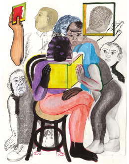 Sarah Mazzetti / Calendario illustrato Burgo 2021