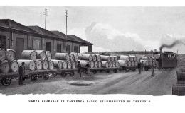 Carta giornale in partenza dallo stabilimento di Verzuolo (1925)
